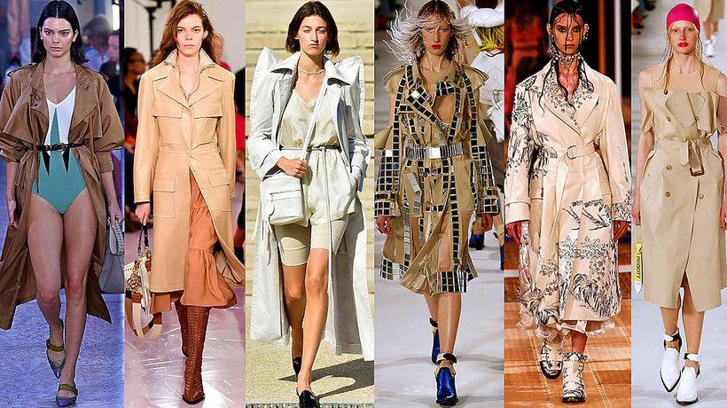 Najmodniejszy płaszcz, trencz na wiosnę 2018