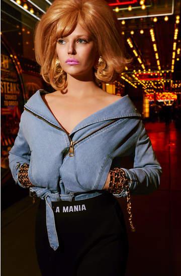 najnowsza kapsuła kolekcja Mania Mind Blow Retro jeans