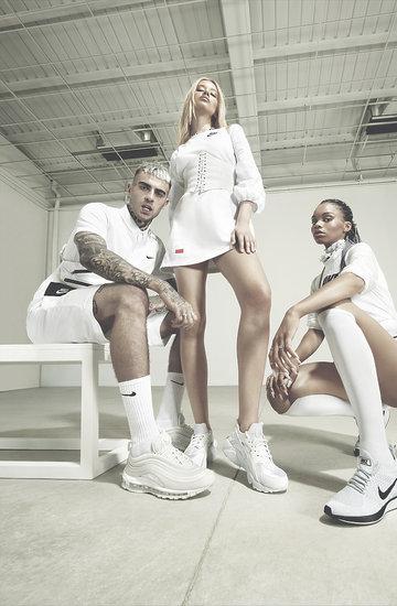 Najnowsza kolekcja  White Sneaker Collection marki Nike