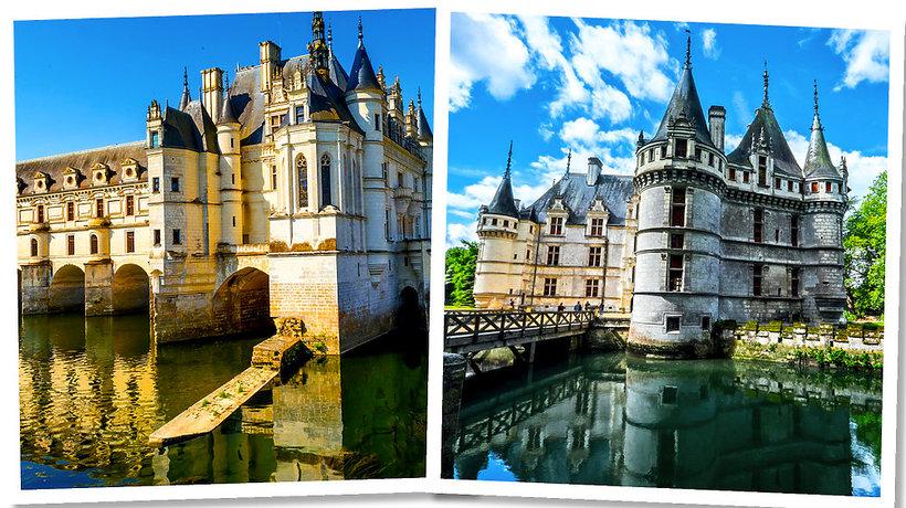 Najpiękniejsze miejsce we Francji, zamki w Dolinie Loary - MIN TOPIC