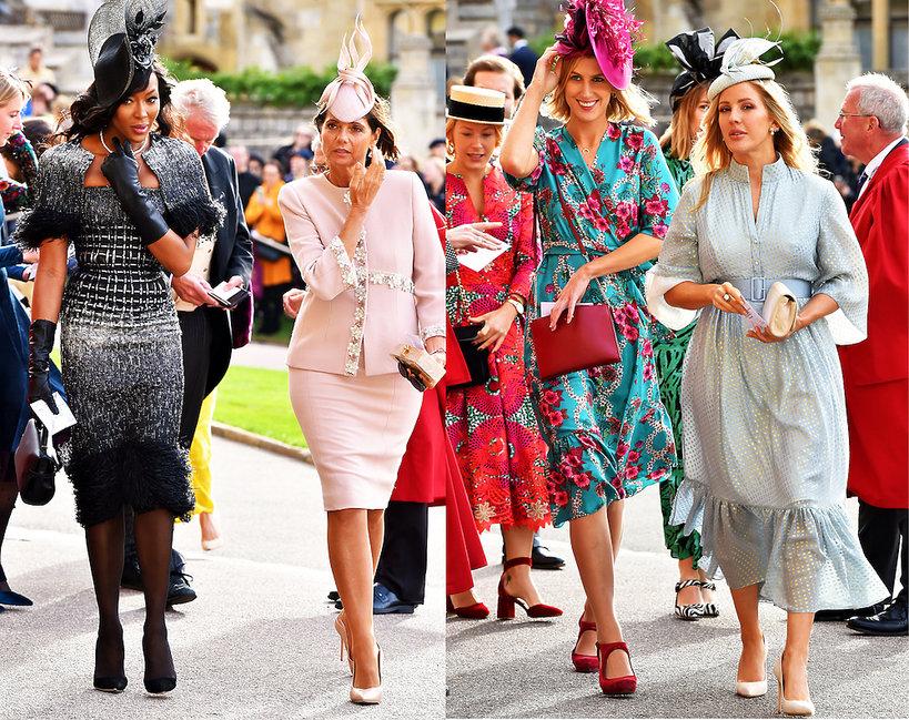 Najpiękniejsze stylizacje gości na ślubie księżniczki Eugenii
