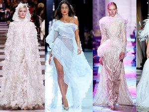 Najpiękniejsze suknie ślubne z pokazów haute couture na wiosnę 2018