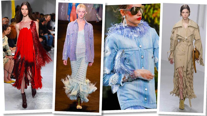 Największe trendy 2018, moda na wiosnę 2018