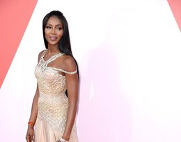Naomi Campbell na imprezie Fashion for Relief w Cannes