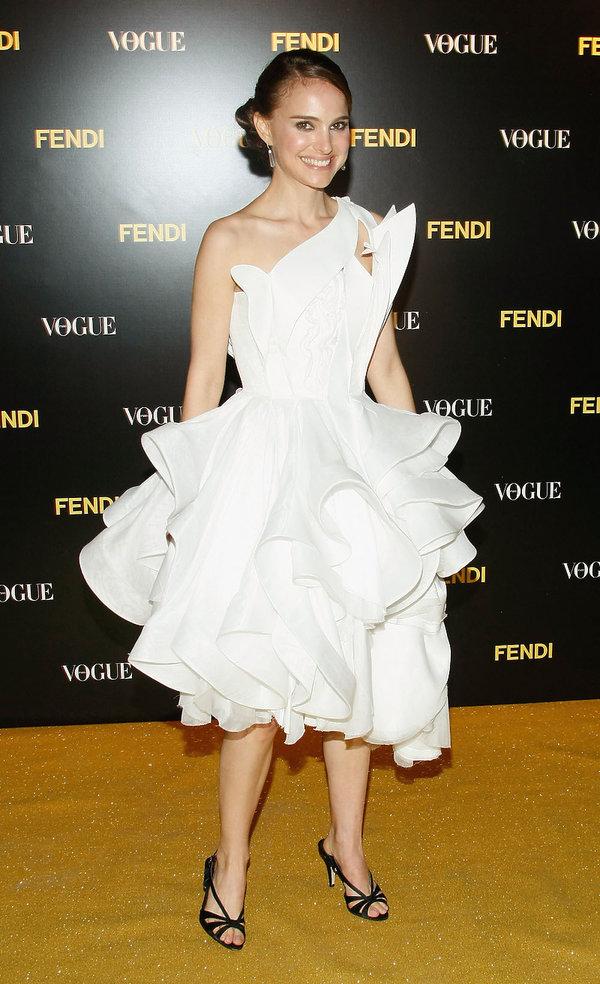 Natalie Portman w kreacji Givenchy