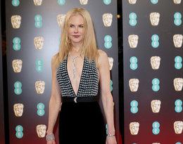 Nicole Kidman na rozdaniu nagród BAFTA 2017 rok