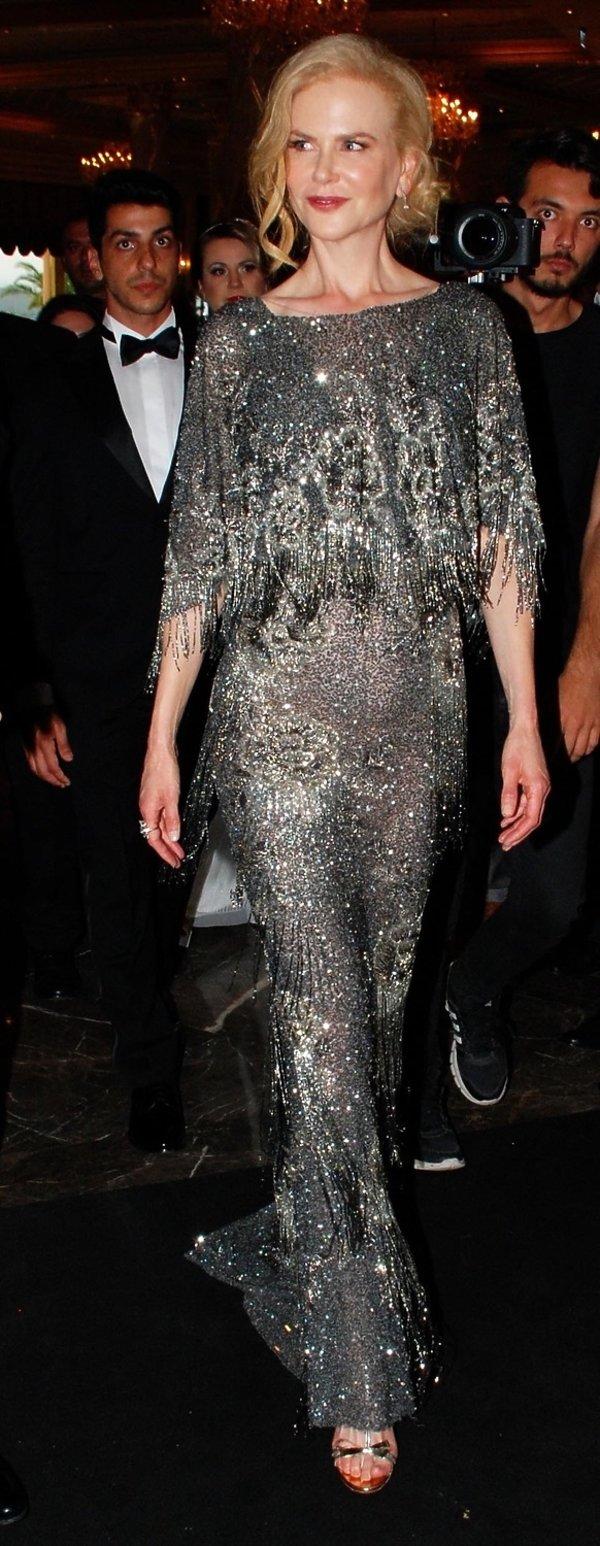 Nicole Kidman w kreacji Marchesa