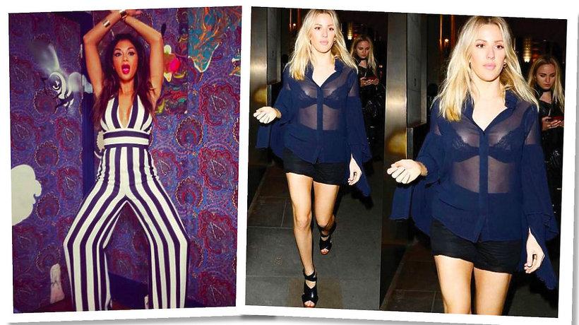 Nicole Scherzinger i Ellie Goulding w kreacjach La Mania
