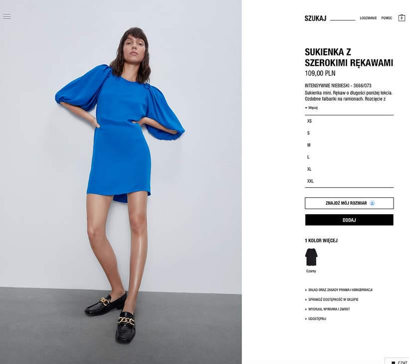 Niebieska sukienka Meghan wyprzedana gdzie kupić podobną