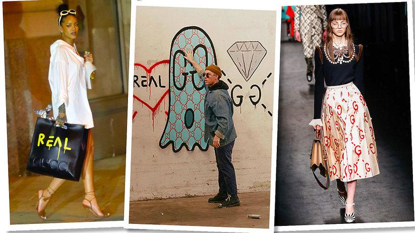 Nowojorski artysta Gucci Ghost stworzył kolekcję dla Gucci