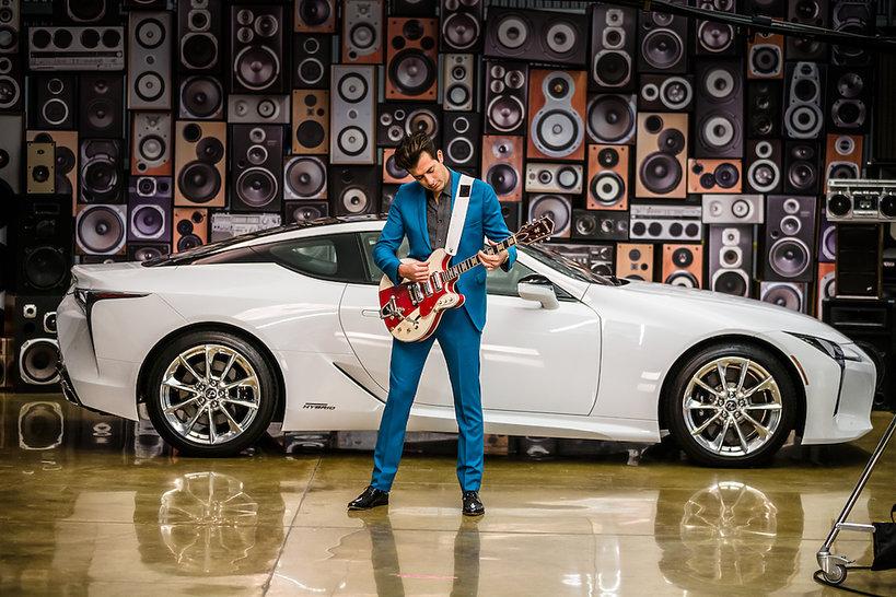 Nowy Lexus LC współpracuje z muzykiem Mark