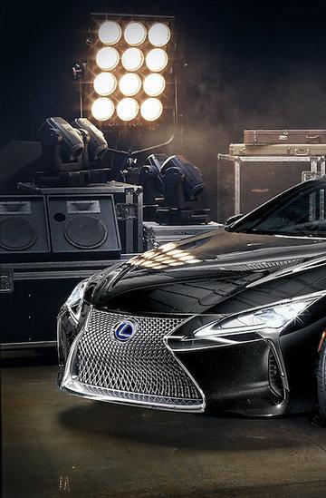 Nowy Lexus LC współpracuje z muzykiem Mark Ronson