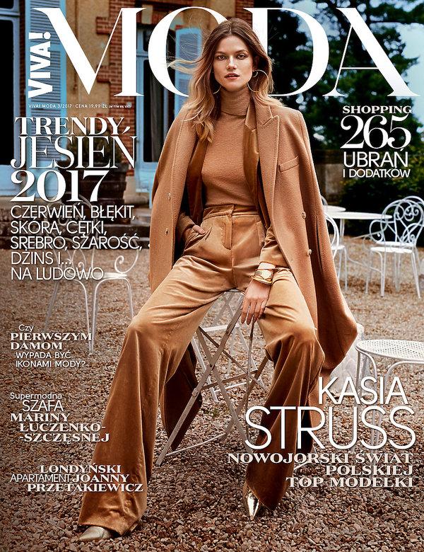 Nowy numer magazynu VIVA! MODA! z Kasią Struss na okładce