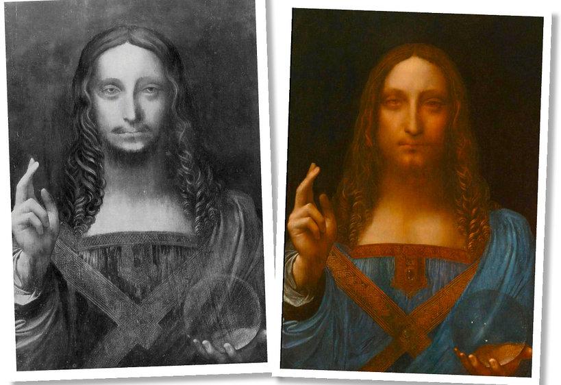 Obraz Leonardo da Vinci sprzedano za 450 milionów dolarów