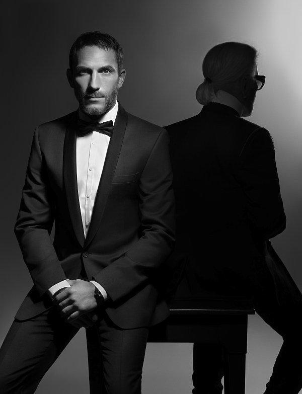 Ochroniarz Karla Lagerfelda, Sebastien Jondeau zaprojektował swą debiutancką kolekcję