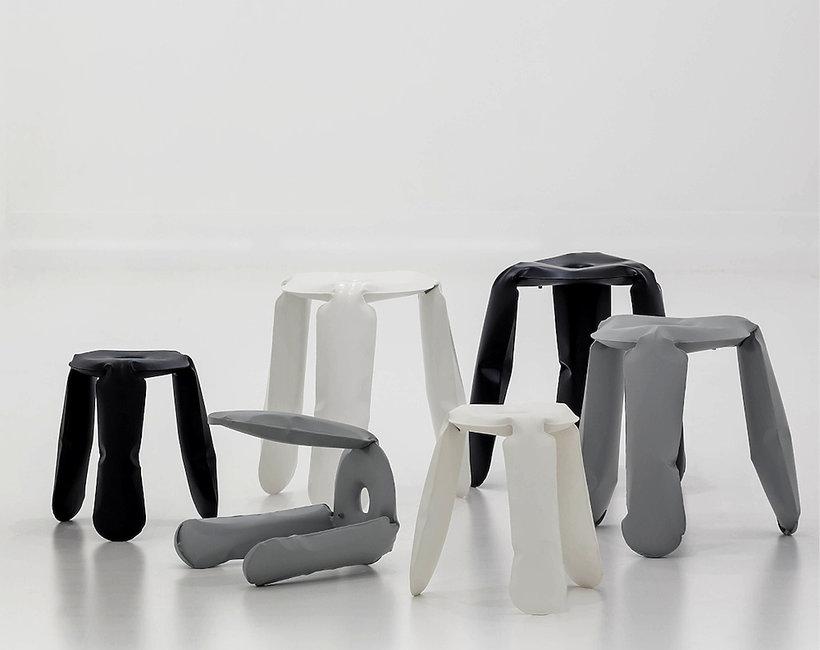 Oscar Zięta kultowy mebel stołek o tajemniczej nazwie Plopp