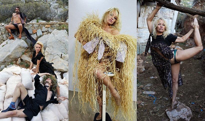 Pamela Anderson w kampanii Vivienne Westwood na wiosnę 2017