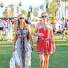Paris Hilton, Nicky Hilton na Coachella Festival, 2014