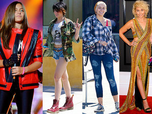 Paris Jackson stylizacje