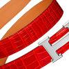 Pasek z dużym logo Hermes