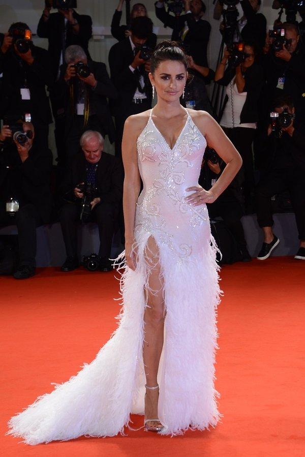 Penélope Cruz na Festiwalu Filmowym w Wenecji