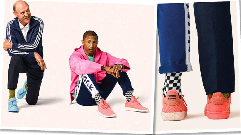 Pharrell Williams i Stan Smith stworzyli wspólną kolekcję dla Adidasa