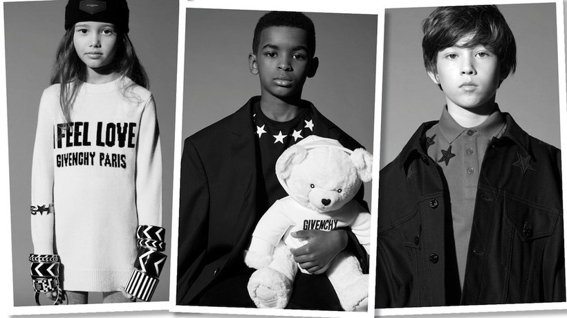 Pierwsza kolekcja dla dzieci domu mody Givenchy
