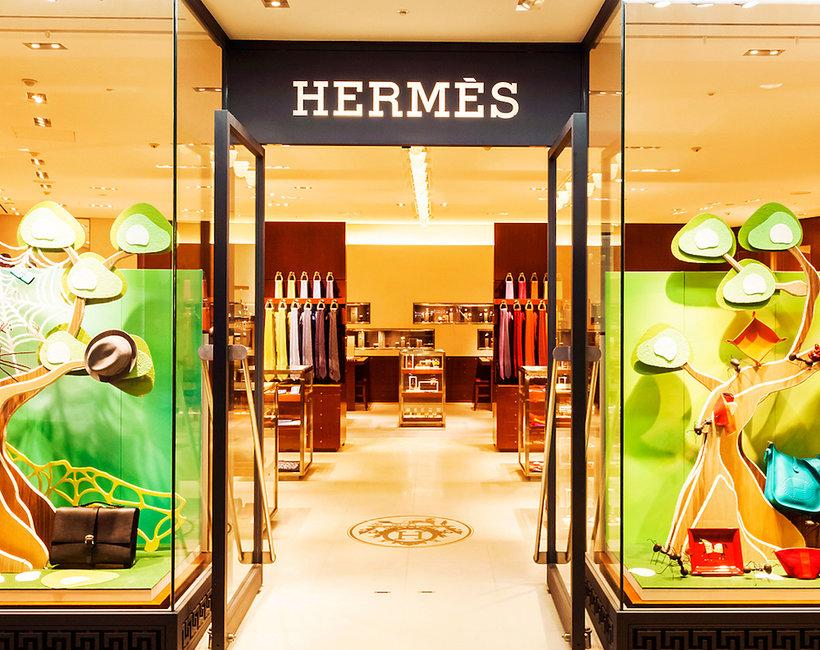Pierwszy butik Hermesa w Polsce