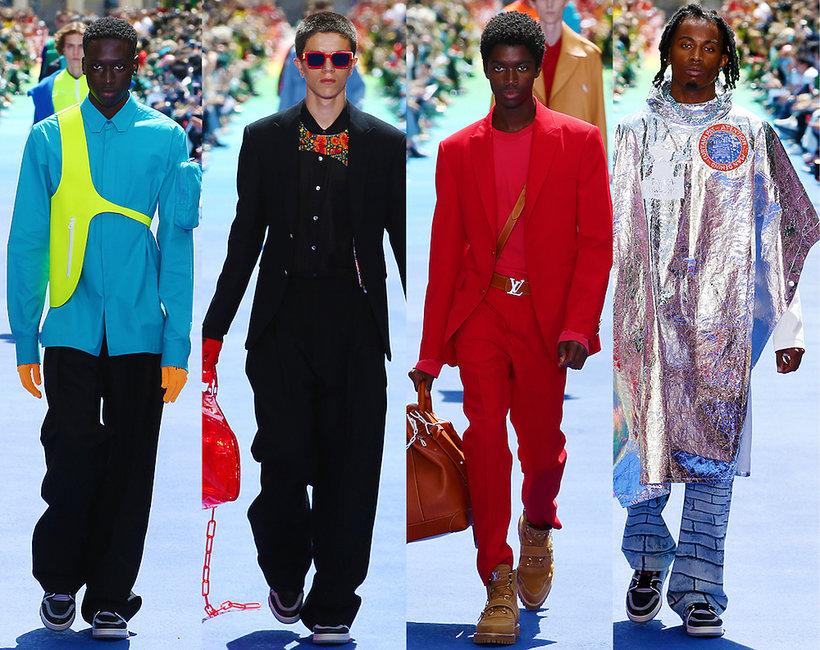 Pierwszy pokaz Virgila Abloha dla Louis Vuitton na wiosnę lato 2019