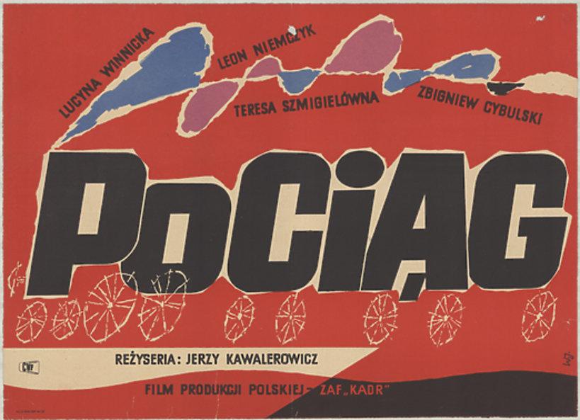 Plakat do filmu Pociąg