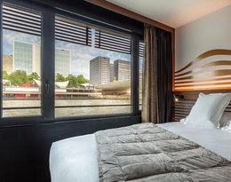 Pływający hotel po Sekwanie w Paryżu, the Off Paris Seine