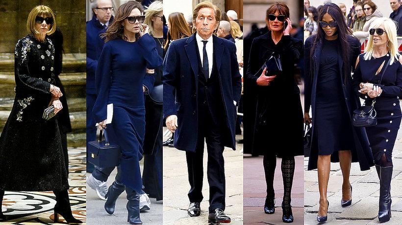 """Pogrzeb redaktor naczelnej włoskiego """"Vogue'a"""", Franca Sozzani- MAIN TOPIC"""