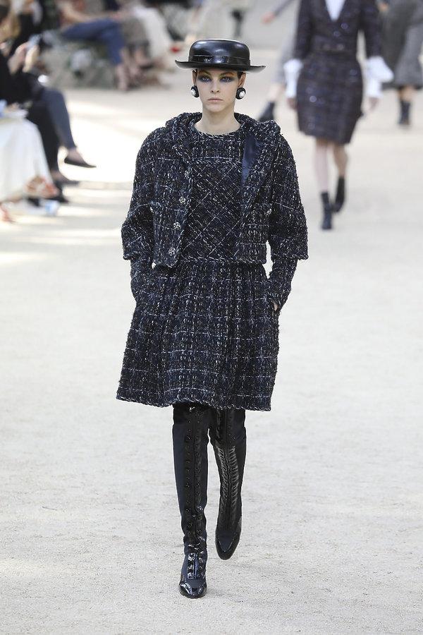Pokaz chanel haute couture na jesień 2017/2018