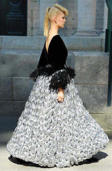 Pokaz Chanel haute couture na jesień 2018