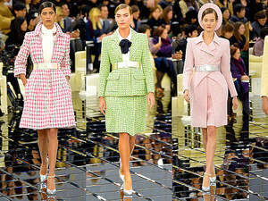 Pokaz Chanel haute couture na wiosnę 2017