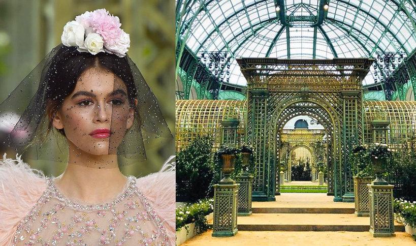Pokaz chanel haute couture na wiosnę 2018