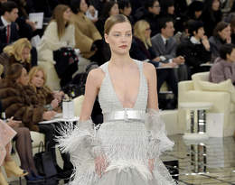 Pokaz Chanel haute couture na wiosnę