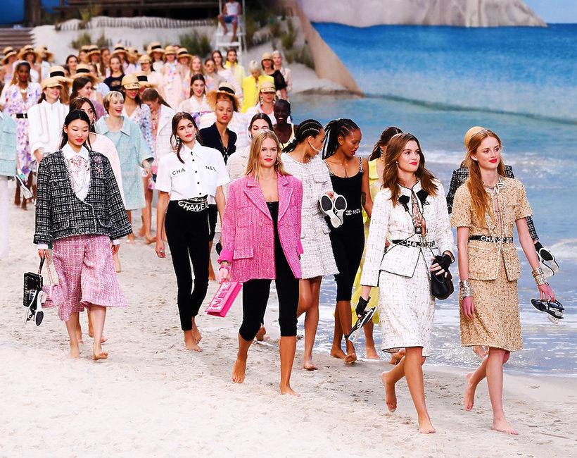 Pokaz Chanel na wiosnę i lato 2019