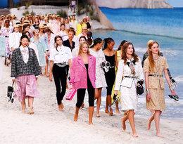 Karl Lagerfeld zamienił wybieg Chanel w… tropikalną plażę!