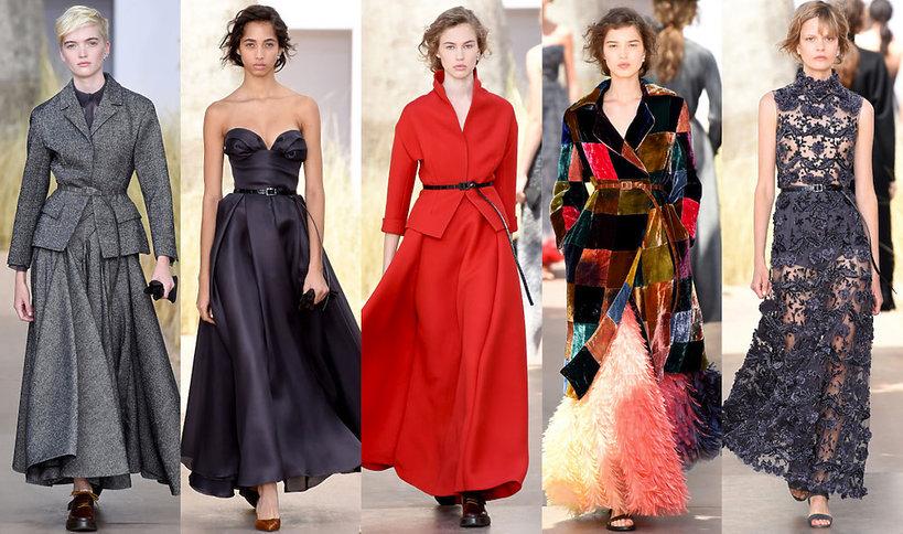 Pokaz Dior haute couture jesień 2017 2018