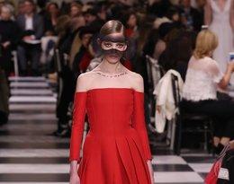 Pokaz dior haute couture na wiosnę 2018