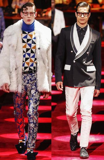 Pokaz Dolce & Gabbana na jesień i zimę 2019 2020