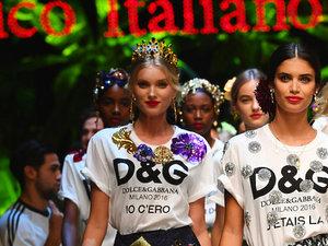 Pokaz Dolce & Gabbana na wiosnę 2017