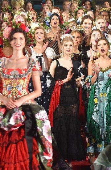 Pokaz Dolce & Gabbana w Neapolu