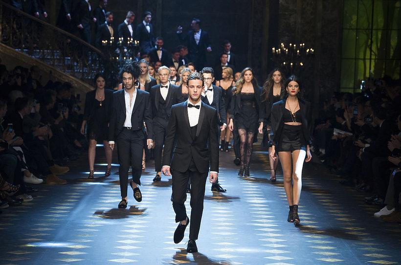 Pokaz Dolce&Gabbana męskiej kolekcji na jesień 2017