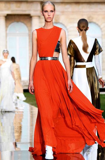Pokaz Givenchy haute couture na jesień 2018