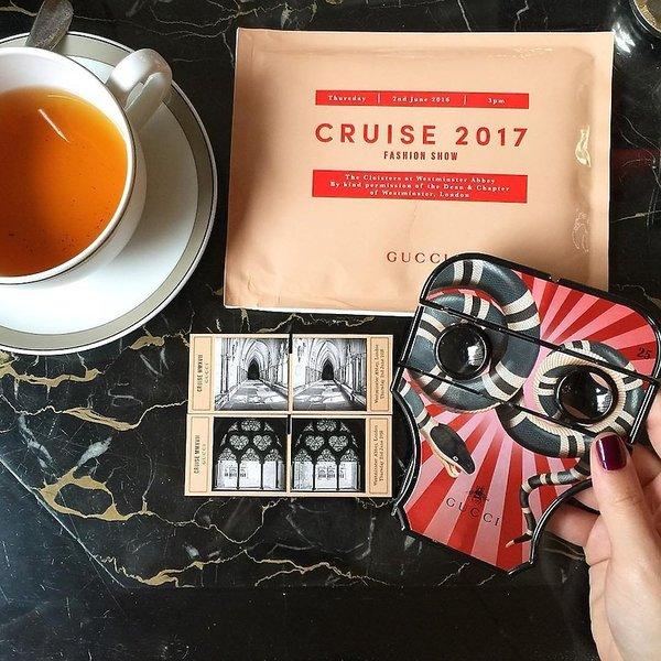 Pokaz Gucci Cruise 2017 w Londynie
