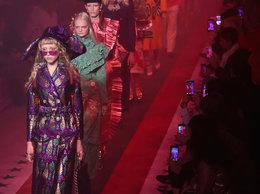 Pokaz Gucci na wiosnę 2017