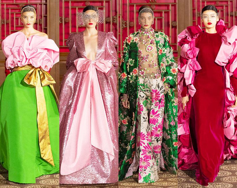 pokaz haute couture Valentino w Pekinie