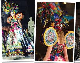 Pokaz  kolekcji Alta Moda Dolce & Gabbana na Sycylii